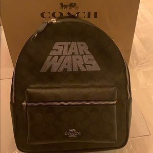 NWT Coach Star Wars X Medium Charlie Backpack
